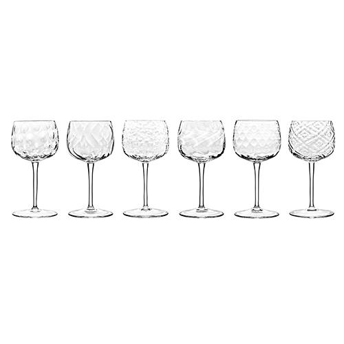 Bei Stemmed Wine Glasses, Set of 6 by Emmanuel Babled for Covo Italy