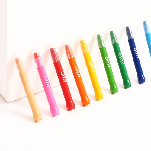 Gel Crayons, Set of 9 by OMY Design & Play