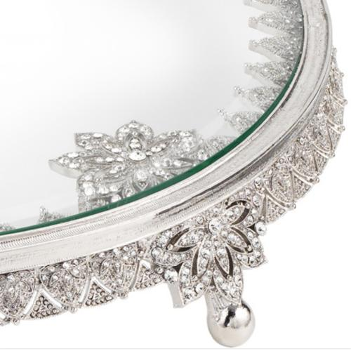 Windsor Cake Plate, Silver by Olivia Riegel