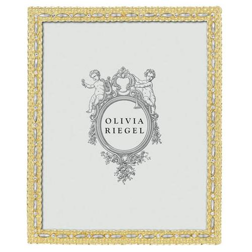 Cameron 8 x 10 Frame, Gold by Olivia Riegel