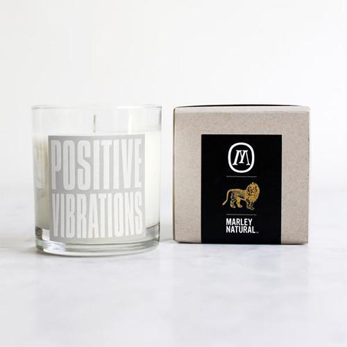 Positive Vibrations Candle by Marley Natural