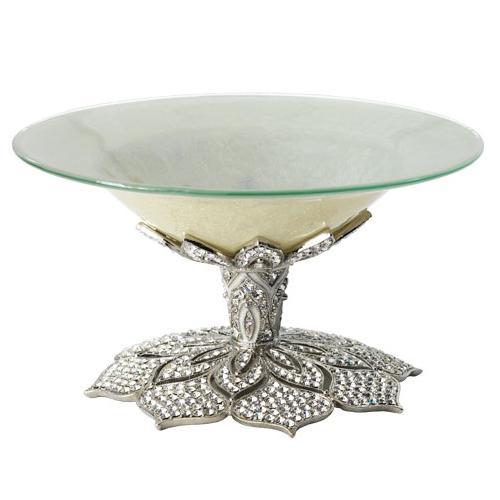 Windsor Candy Dish, Silver by Olivia Riegel