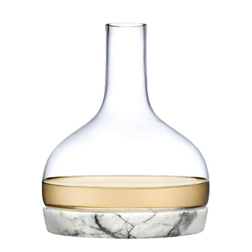 Chill Marble Bottomed Carafe by Nude