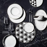 Carrara Dessert Plate by Coline Le Corre for Vista Alegre