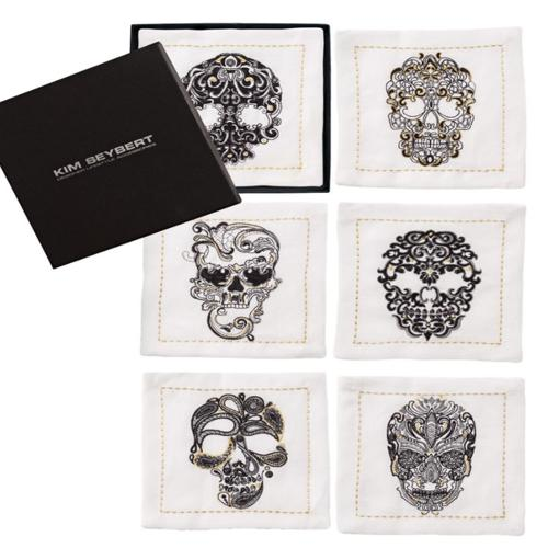 Catrina Cocktail Napkins, set of 6 by Kim Seybert