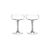 Amalia Champagne Coupe Set/2  by Juliska