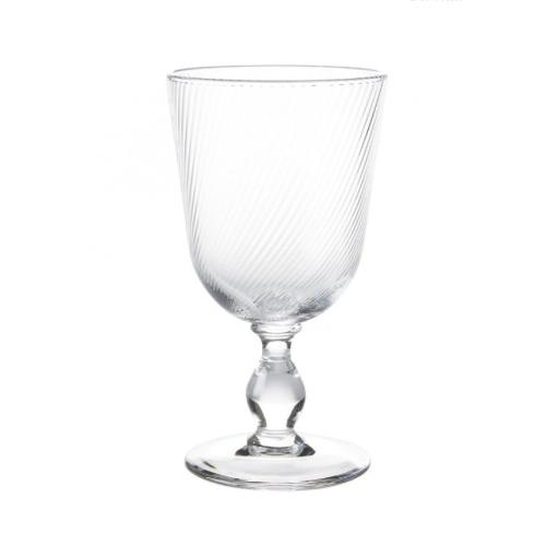 Arabella Clear Footed Goblet by Juliska