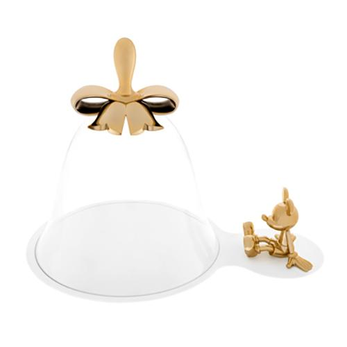 Mickey Mouse Cheese Bell & Tray by Marcel Wanders