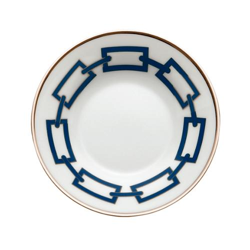 Catene Coffee Saucer, Blue by Gio Ponti for Richard Ginori