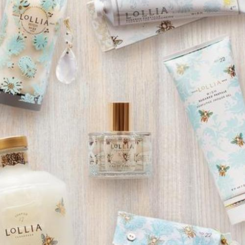 Wish Petite Treat Shea Butter Hand Lotion by LOLLIA