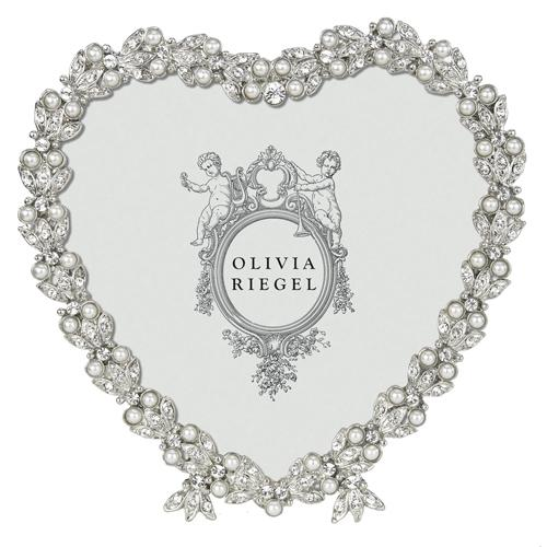 Contessa Heart Frame by Olivia Riegel