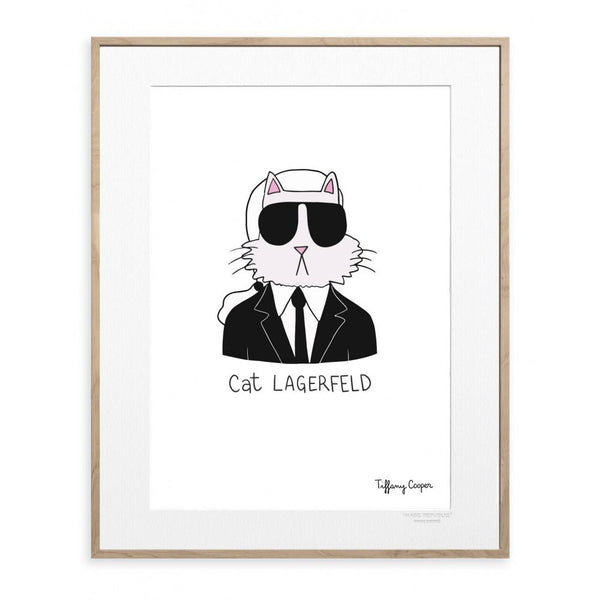 Cat Lagerfeld by Tiffany Cooper
