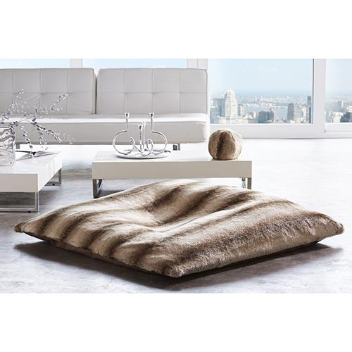 "Faux Fur 55"" Floor Pillows by Evelyne Prelonge Paris"