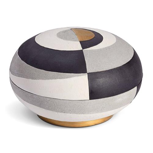 Cubisme Round Box, Large by L'Objet