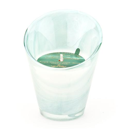 Moonstone Opaline Candle by D.L. & Co.