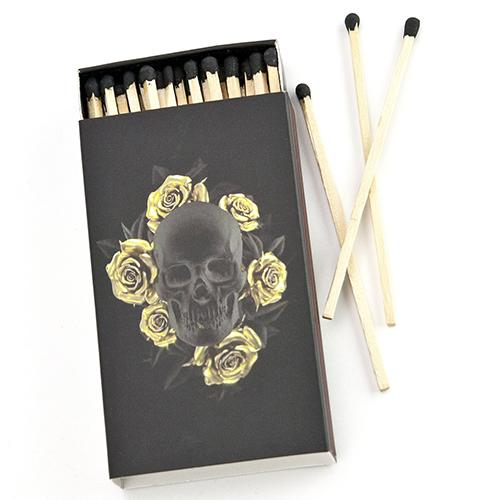 Rose Skull Matches by DL & Company