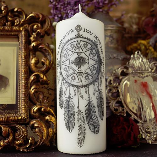 Dream Catcher Candle by Coreterno