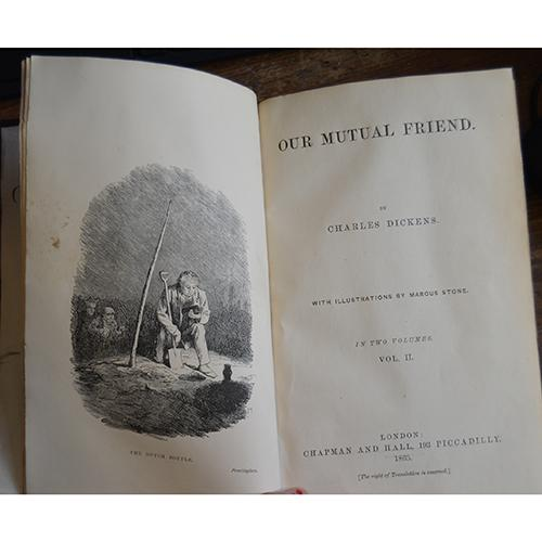 Our Mutual Friend by Charles Dickens, 2 Vols.  First Edition.