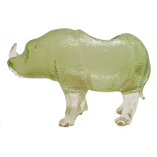 "Loetz: Rhino Art Glass Vase, 10"" x 6"""