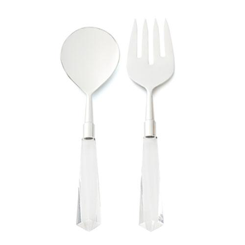 Faceted Salad Serving Set by Kim Seybert