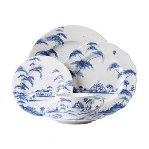 Country Estate Delft Blue 5 Piece Place Setting by Juliska