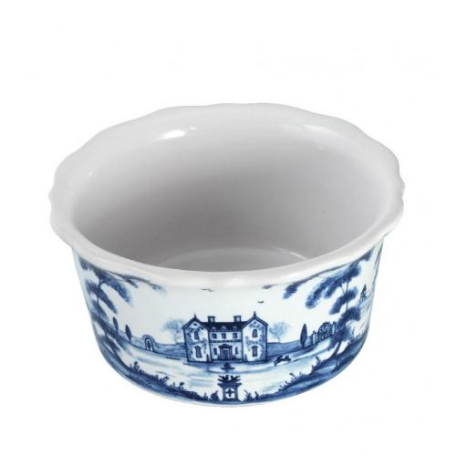Country Estate Delft Blue Ramekin, Tea Party Tent by Juliska