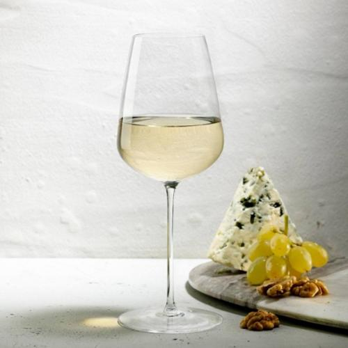 Stem Zero White Wine Glass Glass by Nude