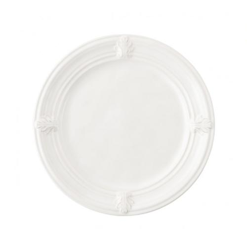 Acanthus Whitewash Dessert/Salad Plate by Juliska