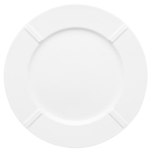 "Bruk Porcelain 10"" Dinner Plate by Anna Ehrner for Kosta Boda"