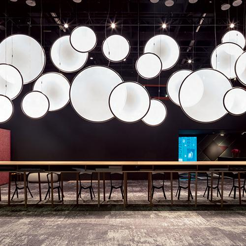 Discovery Vertical Suspension Lamp by Ernesto Gismondi for Artemide