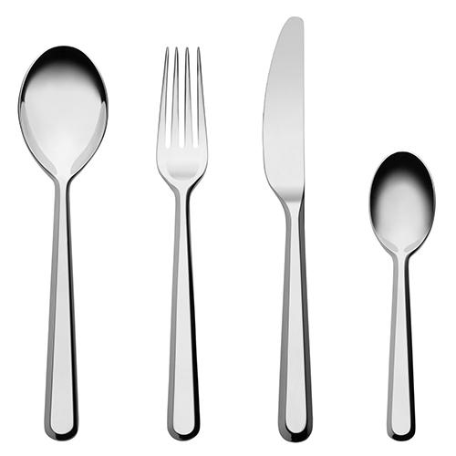 Amici Flatware, 5 Piece Place Setting by BIG GAME for Alessi
