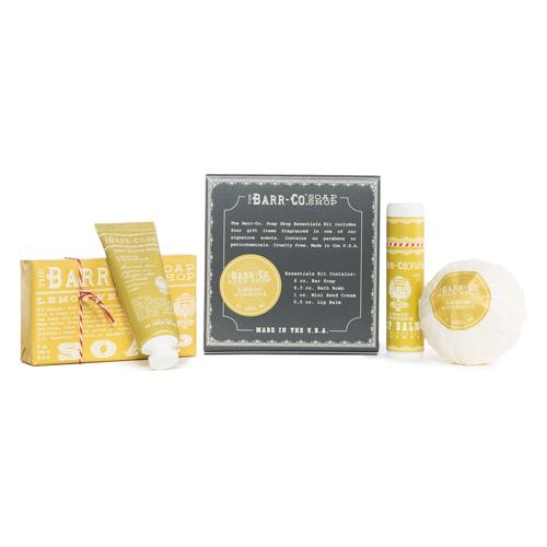 Barr-Co. Soap Shop Essentials Kit Gift Set
