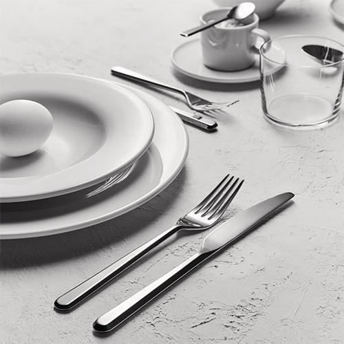 Amici Flatware, Dessert Knife by BIG GAME for Alessi
