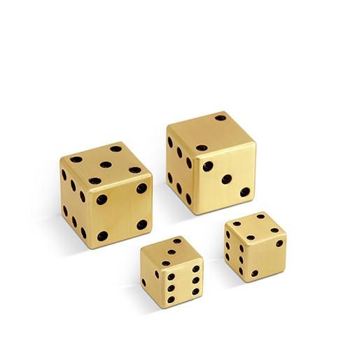 Brass Dice by L'Objet