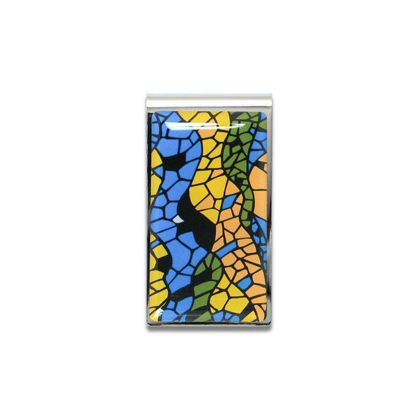 Mosaic Money Clip by Antoni Gaudi for Acme Studio