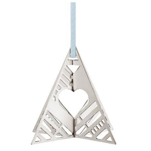2019 Tree Christmas Holiday Ornament by Sanne Lund Traberg for Georg Jensen