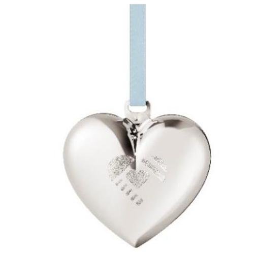 2019 Christmas Heart Ornament by Sanne Lund Traberg for Georg Jensen