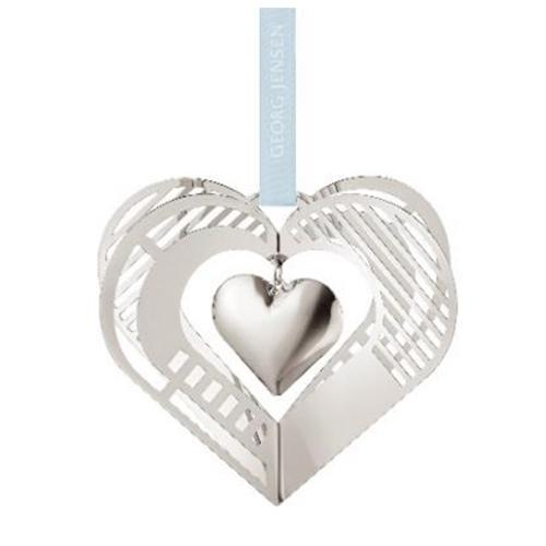 2019 Heart Ornament by Sanne Lund Traberg for Georg Jensen