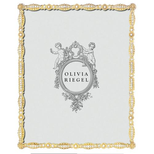Asbury Frame, Gold by Olivia Riegel