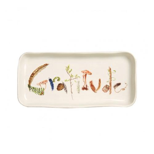 Forest Walk Gratitude Gift Tray by Juliska