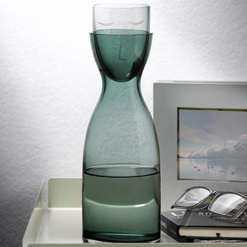 Mr & Mrs Tall Sleeping Carafe by Erdem Akan for Nude