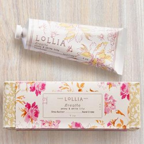 Breathe Shea Butter Hand Lotion by LOLLIA