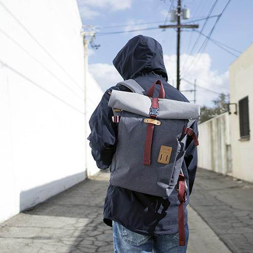 Rolltop Backpack Plus by Harvest Label