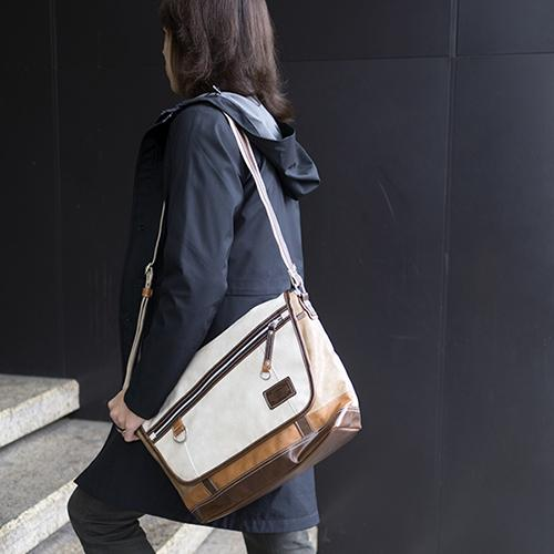 Vantage Messenger Bag by Harvest Label