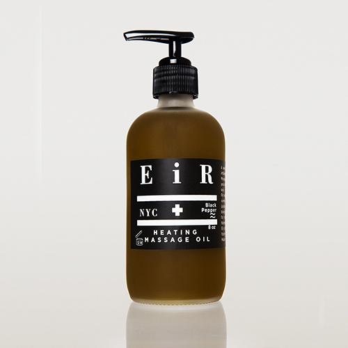 Heating Massage Oil by EiR NYC