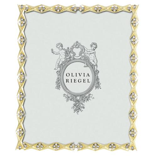 Hailey 8x10 Frame, Gold by Olivia Riegel