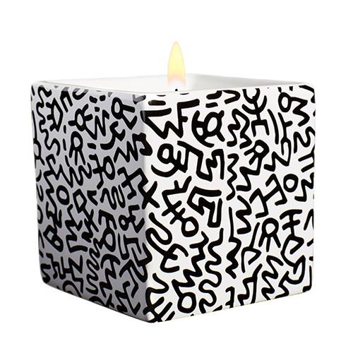 Square Keith Haring Candles by Ligne Blanche Paris