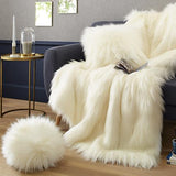 Faux Fur Throws by Evelyne Prelonge Paris