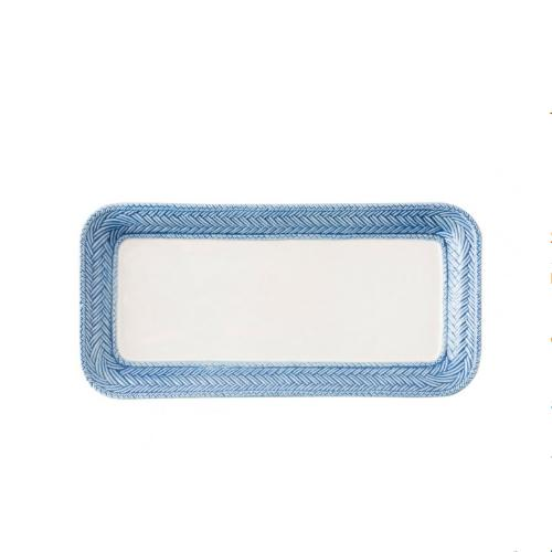 Le Panier White/Delft Hostess Tray by Juliska