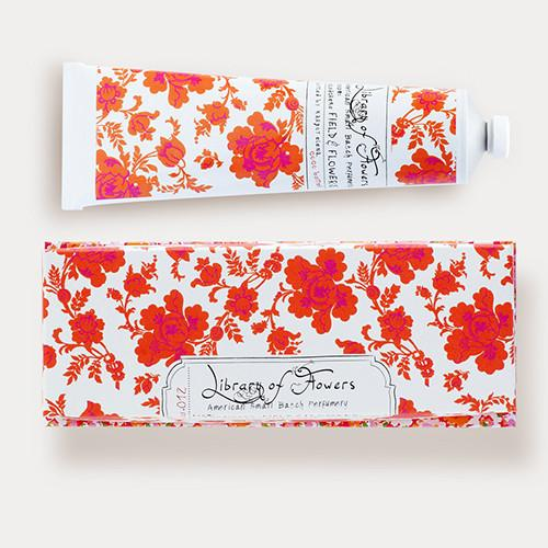 Field & Flowers Hand Cream by Library of Flowers